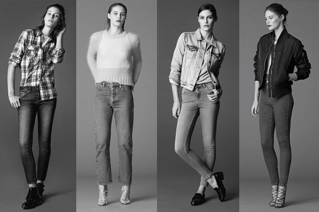 Denim Jeans Kampagne von TOPSHOP - Die perfekte Jeans finden nach Jeanspassform und Schnitt