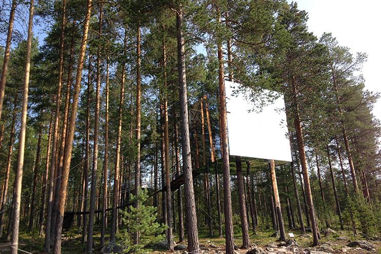 Tree House Mirror Cube