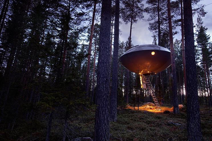 Treehotel Ufo Tree House