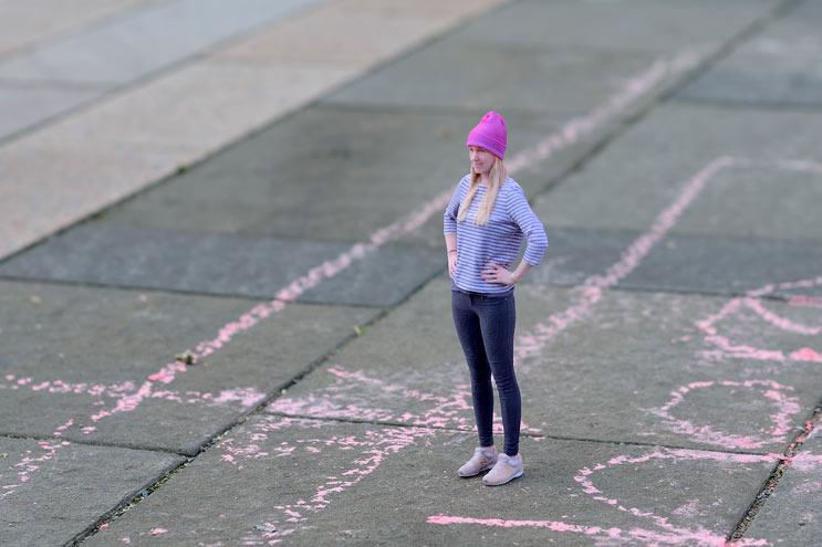 3D Fotografie von Frau bei Twinkind