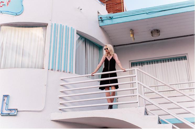 Modestil und Trend Pastell passend zum Art Deko Look von Miami