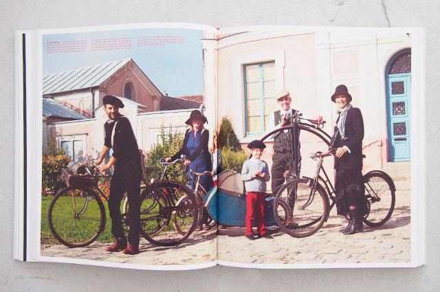 Alte Fahrrad Modelle in Velo