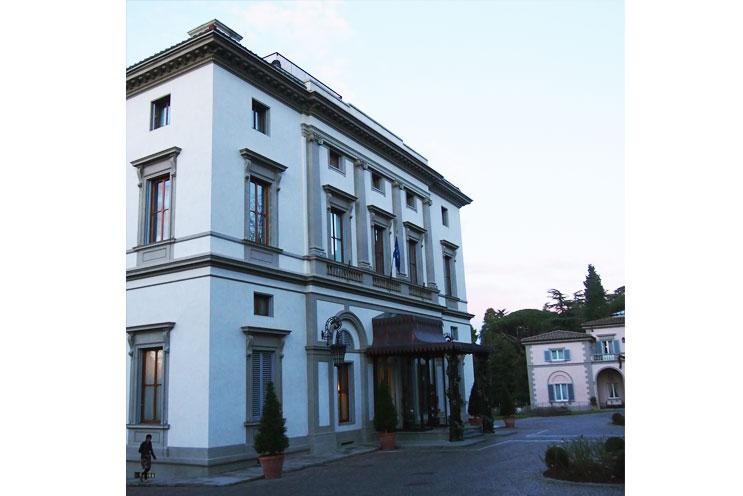 Hotel Tipp, Design Hotel Villa Cora in Florenz