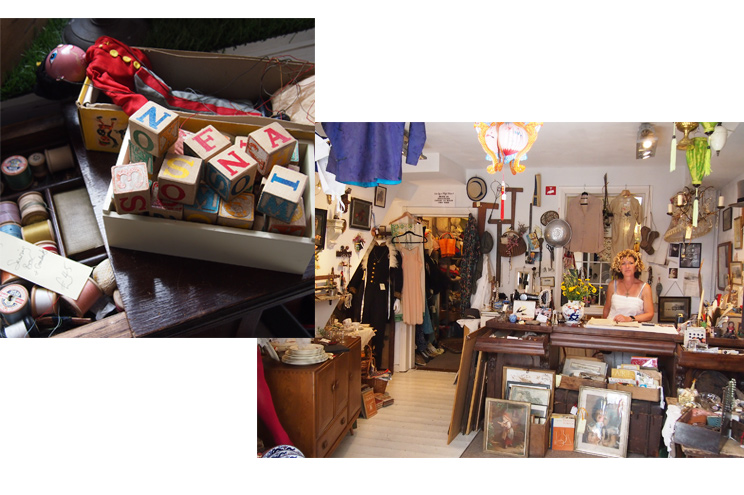 Shopping in Kemp Town für Vintage und Antiquitäten Shop The Vintage Workshop in Brighton, Möbel, Designklassiker,Tipps, Empfehlung