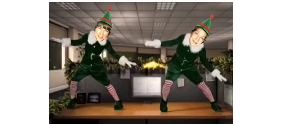 elf yourself video