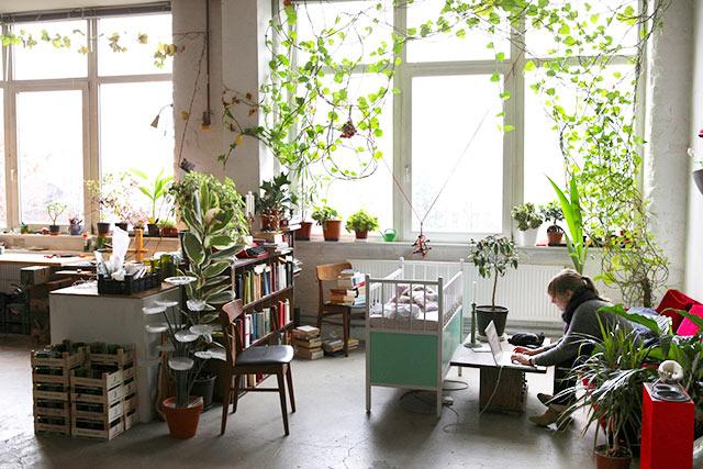 Atelier und Wohnung in Wedding Berlin, Jepser Jensen