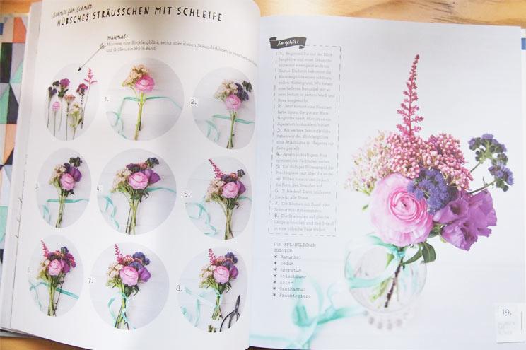 Wohnen mit Blumen von Holly Becker - Blumenstäuße selber machen in Pastell - DIY Anleitung