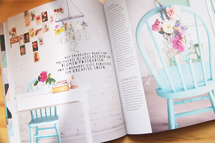 Wohnen mit Blumen von Holly Becker - Blumenstäuße selber machen in Pastell