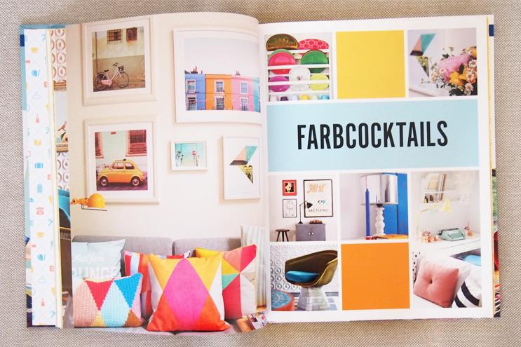 Buch Wohnen macht glücklich von Will Taylor - Einrichten und dekorieren mit Farbe und Wandcollagen