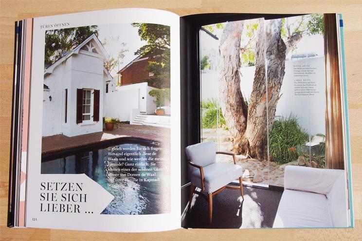 Guest House Familie de Waal in Kapstadt - Buch Wie eine Wohnung ein Zuhause wird, einrichtung, Haus, Architektur
