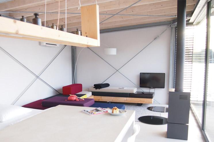 Interior und Inneneinrichtung, Hausboot über Welcome Beyond in Berlin mieten, Ferienwohnung