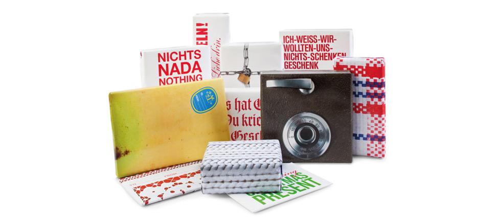 Wrap it! Geschenkpapier von donkey products, mit sprüchen, weihnachtspapier, geschenkpapier karo